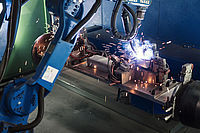 Commissioning of 25thwelding robot